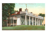 Washington's Mansion, Mt. Vernon, Virginia Posters