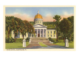 State Capitol, Montpelier, Vermont Art