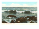 Surf at Watch Hill, Rhode Island Prints