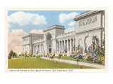 Palace of the Legion of Honor, San Francisco, California Print
