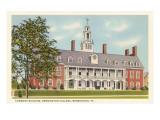 Commons Building, Bennington College, Vermont Posters