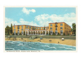 Nansemond Hotel, Ocean View, Norfolk, Virginia Prints