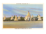Wigwam Village Number 1, Motel Prints