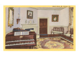 Music Room, Mt. Vernon, Virginia Posters