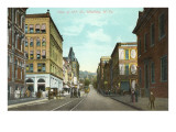 View of 12th Street, Wheeling, West Virginia Prints