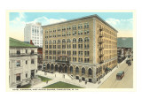 Post Office, Hotel Kanawha, Charleston, West Virginia Prints