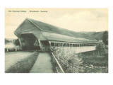 Covered Bridge, Woodstock, Vermont Prints