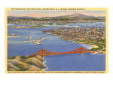 Golden Gate Bridge, San Francisco, California Print