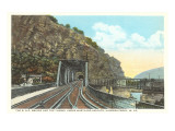 Bridge Tunnel, Harper's Ferry, West Virginia Print