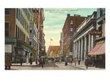 Weybosset Street, Providence, Rhode Island Posters