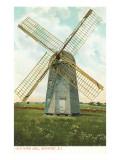 Wind Mill, Newport, Rhode Island Print