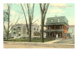 Aldrich Library, City Hotel, Barre, Vermont Prints
