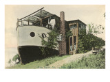 House Made from Boat, San Diego, California Posters