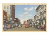 Main Street, Fond du Lac, Wisconsin Prints