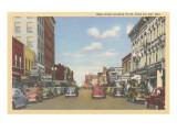 Main Street, Fond du Lac, Wisconsin Prints