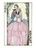 June Roses, Couple in Arbor Prints