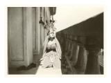 Little Girl Dressed as Mata Hari Posters