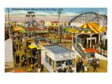 Belmont Amusement Park, Mission Beach, San Diego, California Prints