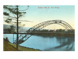 Arch Bridge, Bellows Falls, Vermont Print