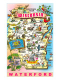 Greetings from Wisconsin, Waterford Photo