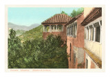 Queen&#39;s Lookout, Alhambra, Granada, Spain Prints