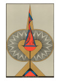 Geometric Representation of the Chalice in the Heart Prints