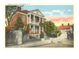 Pringle House, Charleston, South Carolina Print
