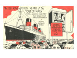 Queen Mary Refrigeration Plant Prints