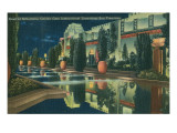 San Francisco World's Court of Reflections Prints