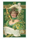 Old Fashioned St. Patrick's Day Greeting Posters