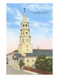 St. Michael's Church, Charleston, South Carolina Poster