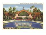 Botanical Building, Balboa Park, San Diego, California Posters