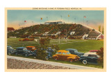 Football at Foreman Field, Norfolk, Virginia Posters