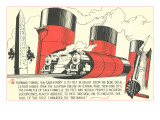 Queen Mary Funnel Size Prints
