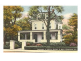 Richard Byrd Birthplace, Winchester, Virginia Prints