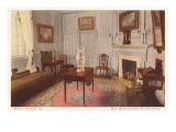 Sitting Room, Mt. Vernon, Virginia Posters