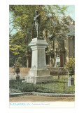 Confederate Monument, Alexandria, Virginia Prints