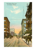 Pike Street, Seattle, Washington Prints