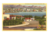 Point Loma Looking Towards San Diego, California Posters