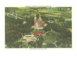 Overview of Holy Hill, Wisconsin Prints