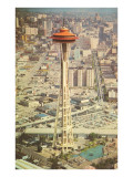 Space Needle, Seattle, Washington Poster