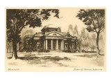 Monticello, Charlottesville, Virginia Prints