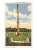 Totem Pole, Peninsula State Park, Wisconsin Obrazy