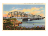 Bridge at Sturgeon Bay, Door County, Wisconsin Posters