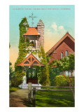 All Saints Church, Santa Barbara, California Print