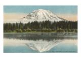 Mt. Tacoma, Lake Spanaway, Washington Art