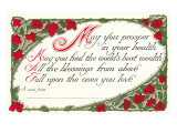 Best Wishes for Health and Blessings Prints
