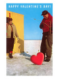 Happy Valentine's Day, Ice Fishing Prints