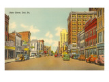 State Street, Erie, Pennsylvania Prints
