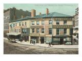 Turk's Head, Westminster Street, Providence, Rhode Island Prints